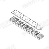 1576548 PAPER GUIDER FRONT ASSY, CC03, EPPI EPSON EXPRESSION HOME XP-205 / 207
