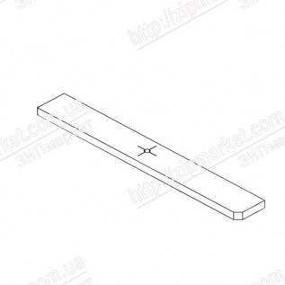 1556085, 1593845 POROUS PAD, PAPER GUIDE, FRONT, LOWER, B EPSON EXPRESSION HOME XP-312 / 313 / 315