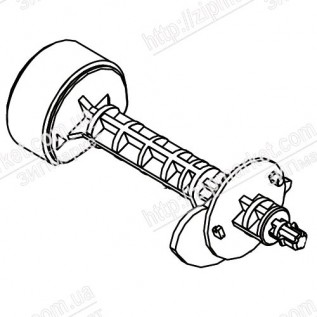 1573559 SHAFT, ROLLER, LD, ASSY, IEI  EPSON EXPRESSION HOME XP-312 / 313 / 315