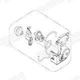 1586471 FRAME PUMP ASSY.,B,IEI EPSON EXPRESSION HOME XP-312 / 313 / 315