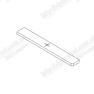 1597491 POROUS PAD, PAPER GUIDE, FRONT, LOWER, C МФУ EPSON XP-422 / 215 / 415
