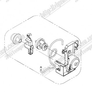 1620230 FRAME PUMP ASSY МФУ EPSON XP-422 / 412 / 415 / 432 / 435