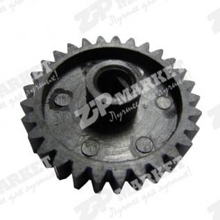 RU5-0185 Шестерня резинового вала, 29T HP LJ 1010 / 1012 / 1015 / M1005 / Canon LBP-2900 / 3000   GEAR, 25T