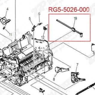 RG5-5026 Ограничитель передней крышки, правый Canon LBP-800 / 810  - Рычаг передней крышки правый