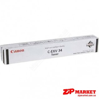 C-EXV34 3782B002AA Тонер - туба CANON iRC2020 / 2030 23K Black