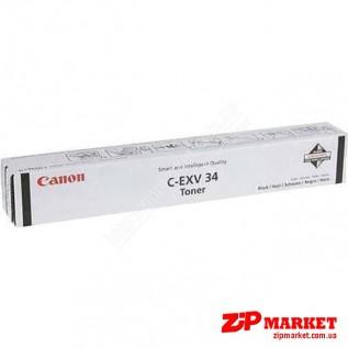C-EXV34 3782B002AA Тонер - туба CANON iRC2020 / 2030 23K Black