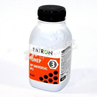 T-PN-HU3-085 Тонер - банка HP LJ Universal №3 Black PATRON 85г