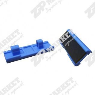 RF0-1014-000 Тормозная площадка HP LJ 1200 / 1220 / 1000W / 1005 / 1150 / 1300 / 3300 / 3310 / 3320 / 3330 / 3380 / Canon LBP-1210, A0001157 (Площадка отделения центральная PAD, SEPARATION)