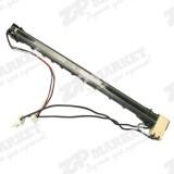 RM1-0656 Узел закрепления / термоблок / термоузел / печка, верхняя часть HP LJ 1010 / 1012 / 1015 / Canon LBP-2900 / 3000