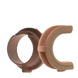 Комплект втулок резинового вала HP 1100 / 3200 RB2-3956-000 / RB2-3957-000 20740