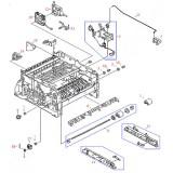 RB1-6179-000 Втулка правая (бушинг) узла захвата из ручной и из кассеты HP LJ 5000 / 5100 / GP-160  BUSHING, RIGHT