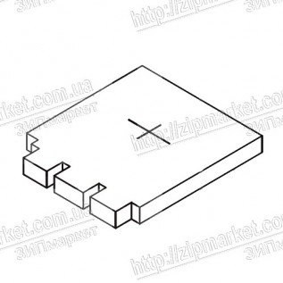 1571769 POROUS PAD, PAPER GUIDE, LOWER, D  EPSON XP-605 / 850 / 800 / 801 / 802