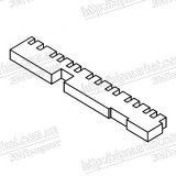 1577469 POROUS PAD, PAPER GUIDE, LOWER, E  EPSON XP-605 / 850 / 800 / 801 / 802 / 760