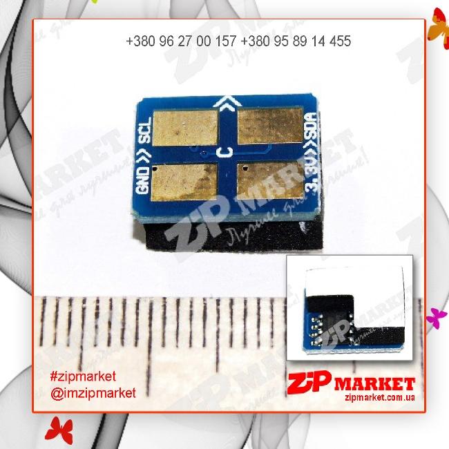 1801190 Чип  картриджа SAMSUNG CLP-300 Cyan АНК  фото 1