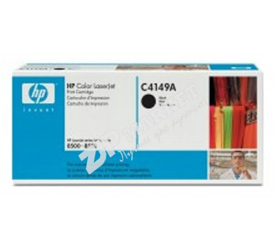 Тонер HP CLJ 8500HP85-600B-K Тонер - банка  HP CLJ 8500 / 8550 (Bl) Static Control (SCC) 600г