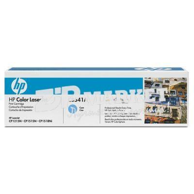 HP1515-40B-C Тонер - банка HP CP1515 / CP1215 / CP1518 / CM1312 MFP Cyan 40г