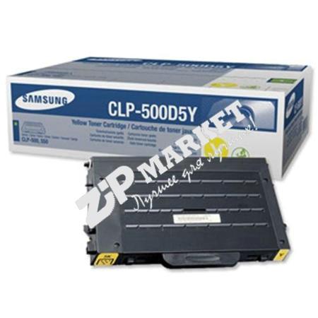 Тонер SAMSUNG CLP 500/510 Yellow 280g IPS