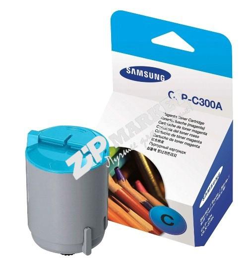 Тонер Samsung CLP-300 Cyan SCC SAM300-50B-C  банка 50г.