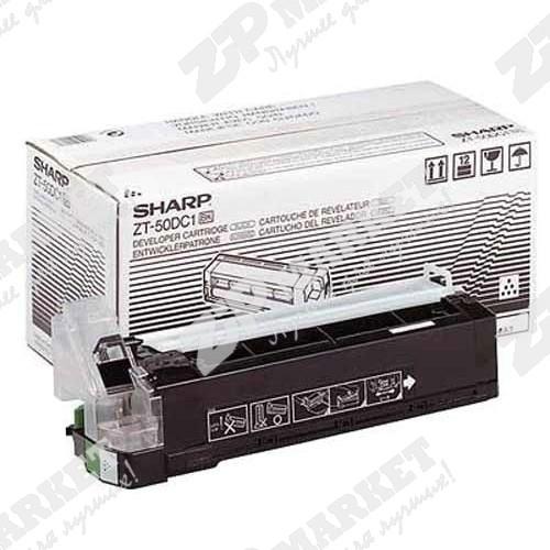 Тонер SHARP Z-50/52/20 Static Control (SCC) Z50T-150B банка 150г