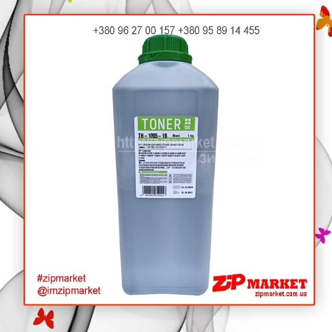 Тонер - банка HP LJ P1005 / P1505 1кг. Universal Colorway 45386 TH-1005-1B фото 1
