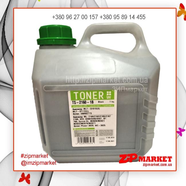 Тонер Samsung ML2160 / 2165 / SCX3400 / 3405 1kg Colorway TS-2160-1B  фото 1